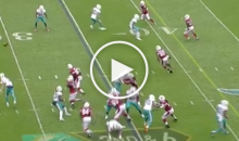 Ryan Tannehill Throws The Worst Pass in the NFL in 20 Years (Video)