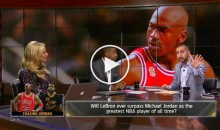 "Nick Wright Says LeBron Has Passed Kobe & ""We Lie About What Michael Jordan Did"" (Video)"