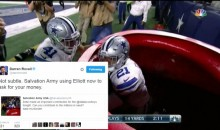 ESPN's Darren Rovell Gets OWNED By Salvation Army For Saying They're Using Zeke For Money