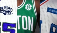 1st Three NBA Teams Put Corporate Logos On Their Jerseys