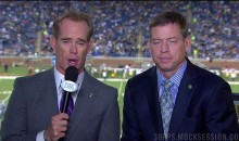 Someone Created a Petition to Remove Joe Buck & Troy Aikman From Packers Game Broadcasts