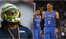 Marshawn Lynch Compares Westbrook's All-Star Game Snub to Seahawks Super Bowl XLIX Playcalling