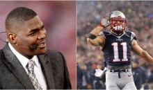 Keyshawn Johnson: 'Edelman & Other Pats WR's Wouldn't Be on Any Other Roster Because They're Products of a System