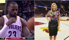 Cavs Reporter Somehow Confuses 'Masturbation' & 'Observation' During Game (Video)