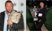 Triple H & WWE Give Serena Belt For Winning Record 23rd Grand Slam Title
