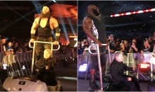 WWE Used Tiny Cart To Drive Stars To Ring During Royal Rumble (PICS)