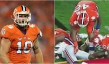 Clemson Tigers Linebacker Says The Entire Team Has Been Grabbing Players' Private Areas All Year (Video)