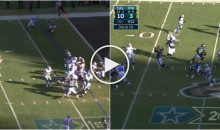 Romo Comes In & Throws TD; Sanchez Comes In & Throws an Interception (Video)