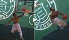 Giants WR Odell Beckham Jr. Shows Off His Best Dunks (Video)