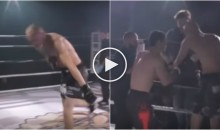 Fighter Dislocates Shoulder Mid-Fight & Opponent Fixes It So They Can Keep Fighting (Video)