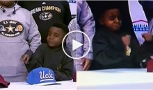 Five-star CB Darnay Holmes' Nephew Was Not Happy He Chose UCLA Over Ohio State (Video)