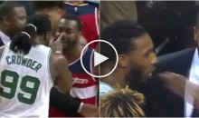 Jae Crowder Puts a Finger in John Wall's Face & Gets Pimp-Slapped For His Troubles (Video)