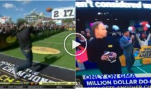 Guy Who Couldn't Throw Football For $1M Is Back & He's Still Terrible at Throwing Footballs (Video)