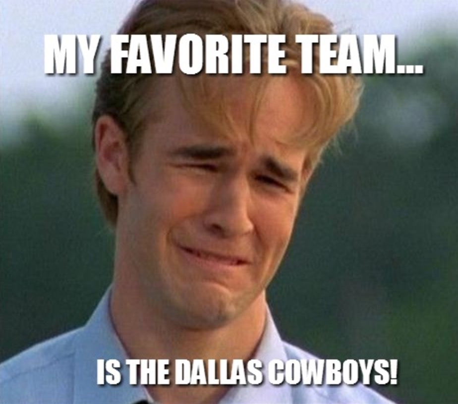 Cowboys meme 12 20 great anti cowboys memes ahead of today's playoff game vs