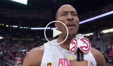 Jinxed: Dwight Howard Predicts Falcons Super Bowl Win After Hawks Game (Video)