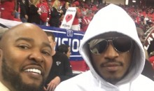 Future in Attendance to Troll Russell Wilson and Seahawks vs. Falcons (Pics)