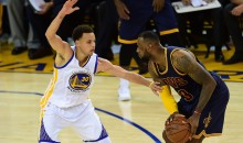 Curry Says He Accidentally 'Liked' a LeBron IG Post About The Cavs Struggling