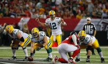 Aaron Rodgers Takes Shot at Atlanta, Insinuates Fake Crowd Noise