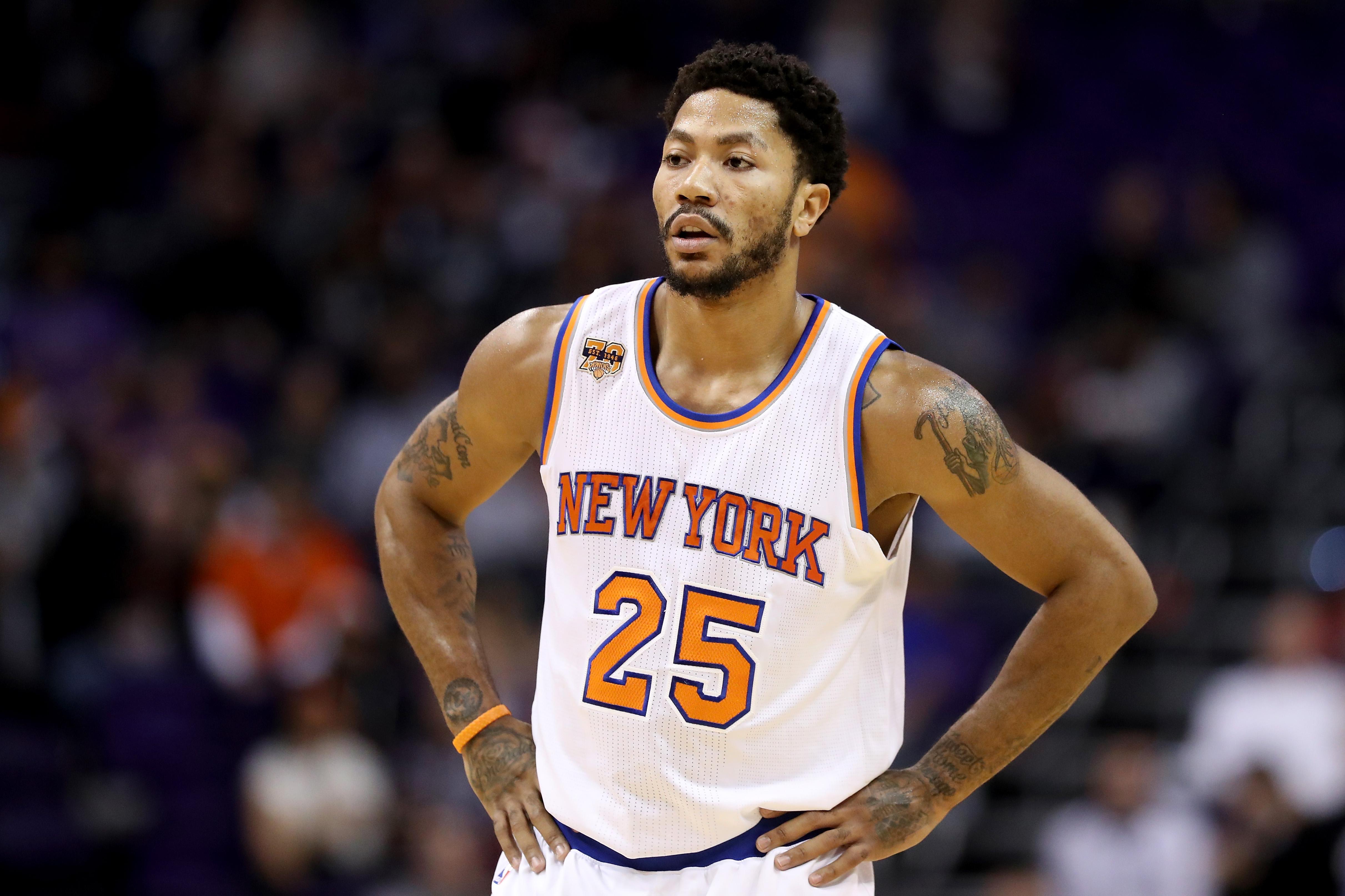Derrick Rose Knicks
