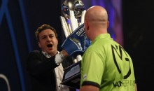 Someone Ran On Stage and Tried to Steal the World Darts Championship Trophy During Its Presentation (Video)