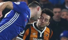 Hull City Midfielder Ryan Mason Suffers Fractured Skull in Brutal Collision with Chelsea's Gary Cahill (Video)