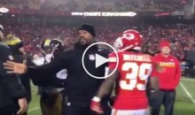 Joey Porter, Mike Tomlin Break Up Post-Game Fight Between Steelers & Chiefs (Video)