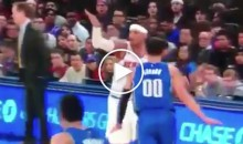 Jeff Hornacek's Reaction to Carmelo Anthony Calling Yet Another Iso Play is Pure Gold (Video)