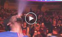 76ers C Joel Embiid Came Out With His Best 'Triple H' Entrance (Video)