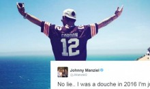 Johnny Manziel Admits To Being a Douche in 2016 & is Ready to Reclaim His Life