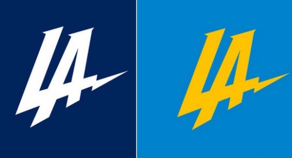 Los Angeles Chargers logo change