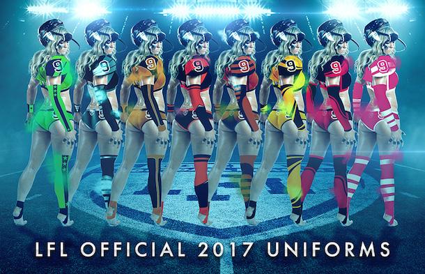 New LFL Uniforms Bikini Bottoms