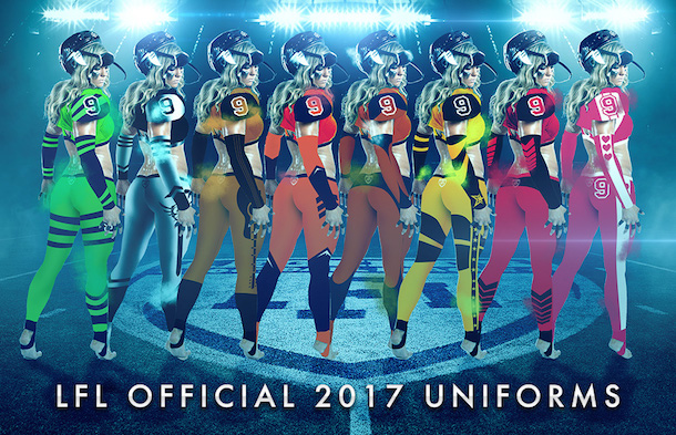 New LFL Uniforms Pants