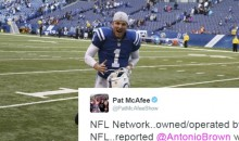 Colts Punter Pat McAfee Calls Out NFL Network For Lying About Antonio Brown 'Pouting' About Stats