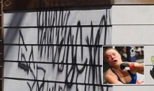 Ronda Rousey's Home Vandalized with Graffiti After She Breaks Post-Loss Silence (PICS)