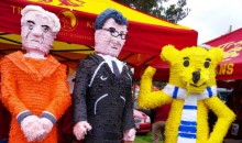 USC Fans (Rightfully) Brought Joe Paterno and Jerry Sandusky Piñatas to the Rose Bowl (Pic)