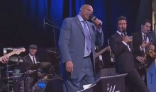 Charles Barkley Sings 'New York, New York' Live…and It's TERRIBLE (Video)