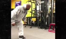 James Harrison Was Back in the Gym at 5 AM After Steelers' Win Last Night (Video)