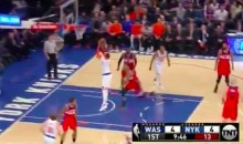 Melo Manages to Airball a Jumper From About Five Feet (Video)