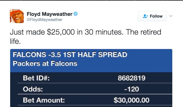 Mayweather sports betting spread betting financial transaction tax news