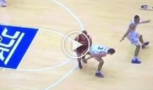 Just Days After Getting Unsuspended, Did Grayson Allen Try & Trip Another Player? (Video)
