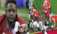 Bama LT Cam Robinson Says There Will Be Problems If Clemson Players Touch His Private Area