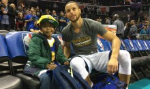 Child With Brain Cancer Gets His Dying Wish Of Meeting Steph Curry (Video)