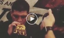 Diaz Brothers Smoke $2K 'Gold Gloves' Blunt (Video)