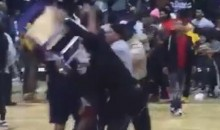 Division II Basketball Game Turns Into WWE Brawl—Yes, Somebody Got Hit with a Folding Chair (Video)