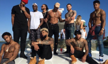 Odell Beckham & Other Giants Take Quick Trip to Miami to Party With Bieber Before Playoff Preparations (Video)