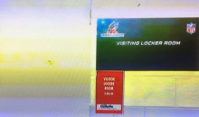 Steelers Put a Padlock on Their Door To Their Locker Room at Gillette Just in Case… (PIC)