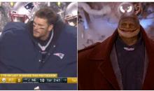 Social Media Mocks Tom Brady's Hilariously Oversized Warming Coat (TWEETS)