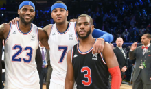 Report: Carmelo Would Waive His No-Trade Clause to Only Play With LeBron or CP3