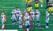 OOPS: NFL Admits Mistake On Unsportsmanlike Huddle Penalty On Brice Butler