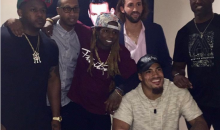 Lil Wayne Signs LSU LB Duke Riley & OU WR Dede Westbrook To YMCMB Sports (Pics)